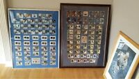 HOCKEY CARDS FULL SET PROFESSIONALY FRAMED
