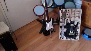 guitare rockband 4 xbox one