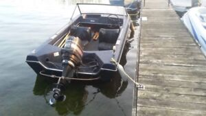 Northcraft boat and trailer $1,500.00