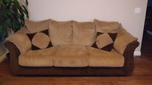 Couch, Loveseat, and Chair for sale