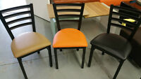 Restaurant Chairs and tables / Metal frame chairs / lounge sofa