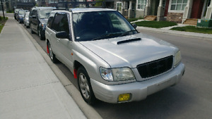 Turbo Subaru forester! Sounds great