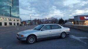 BMW 740il échange contre rwd