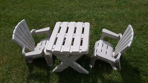 Kids Patio Table & Chairs