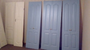 closet doors  excellent condition