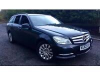 2012 Mercedes-Benz C-Class Estate C200 CDI BlueEFFICIENCY Execut Automatic Diese