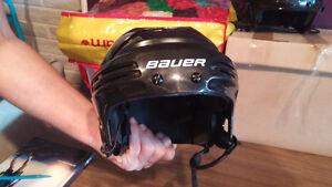 Adult Bauer helmet