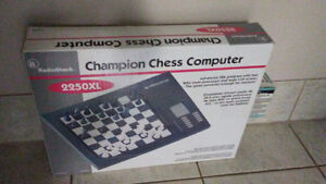Radio Shack 2250XL Champion Chess Computer
