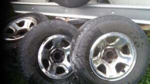 Truck rims 2002 Dodge