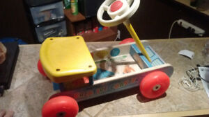 Vintage Fisher Price Toys from the 60s & 70s
