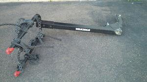Yakima heavy duty 4 bike hitch rack for sale