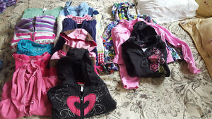 Girls size 7-8 sweaters and hoodies