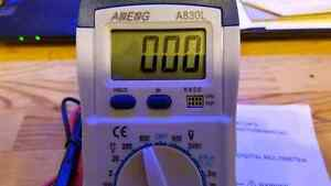 Digital Multimeter Voltage Volt Amp Meter Peterborough Peterborough Area image 3