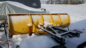 Square body plow system