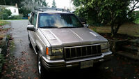 1998 Jeep Grand Cherokee Limited SUV, Crossover