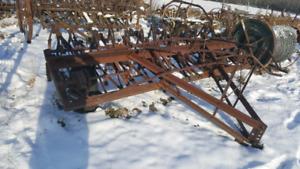 11 Foot Antique Chisel Plow