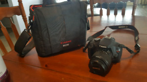 Canon Rebel T5 with case