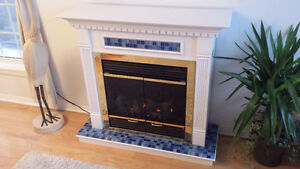 Electric Fireplace: heating, lighting, Decorative Focal Point