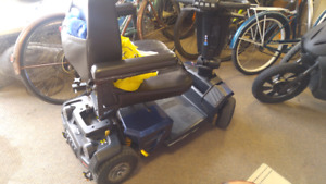 Mobility scooter 24 volt new batteries
