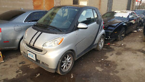 2009 Smart Car ForTwo Passion Coupe (2 door)