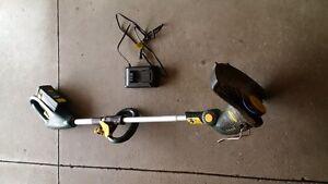 Yardworks cordless grass trimmer/edger Kitchener / Waterloo Kitchener Area image 1