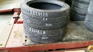 Pair of 2 Continental ProContact GX SSR (run-flat) 225/45R18 tir