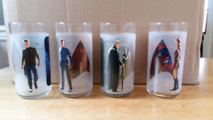 Star Trek Collector Glasses