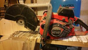 Gas   powered  cut saw