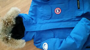 Canada Goose Chilliwack Bomber Youth (Blue)