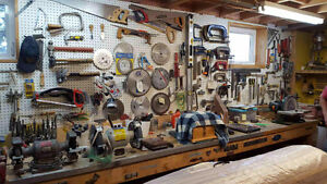 Master Handyman & Woodworker Lifetime of tools>power tools