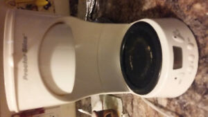 Procter silex white 12 cup coffee maker good condition