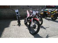 Trials bikes all makes & models Gas Gas Beta TRS Sherco Scorpa Montesa Oset Hebo