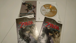 Zelda twilight Princess Nintendo wii en excellent état