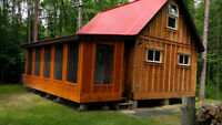 CABIN FOR RENT ON  COXS LAKE 10 MIN FROM SHARBOT LAKE