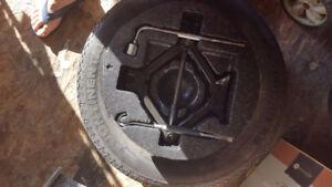 Spare tire Wheel kit (Hyundai sonata)