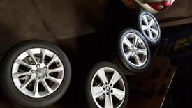Alloy Wheels With Tyres,Complete Wheel Packages,Audi,Volkswagen,Seat Leon FR.