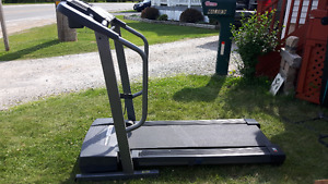 WO equipment including Treadmill, GLider, Total Gym and Sit Up B