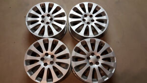 Subaru Cast Aluminum Rims Set of 4