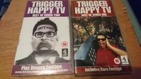 VHS TAPE TRIGGER HAPPY TV 1 & 2