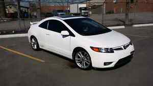 Civic Si coupe white 2007