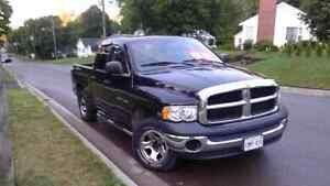 2004 Dodge Power Ram 1500 Chrome and cloth Pickup Truck