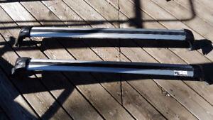 Rails transversaux ou barre de toit pour Hyundai Santa Fee