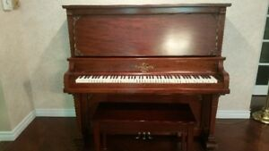Heintzman Piano complete with bench for sale