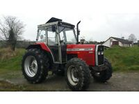 Tractors wanted
