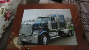 2001 Western Star with 1996 Stoughton Dry Van Trailer