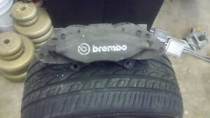 Brembo calipers from range rover