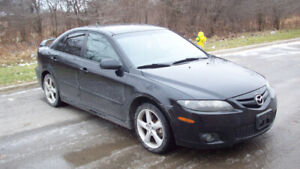2007 Mazda Mazda6 GT **AUTOMATIC**5 SPD**LEATHER**FULLY LOADED**