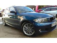 2008 BMW 1 SERIES 118D M SPORT LOVELY LOOKING 1 SERIES GREAT VALUE WITH F