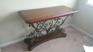 Wrought Iron Decorative Table - mint condition