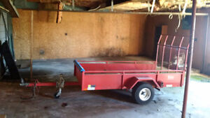 4x8 48x96 Utility trailer load ramp